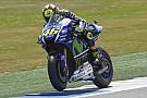 Rossi lidera el 1-2 de Yamaha en la tercera práctica