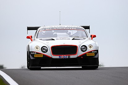 Bentley debut for Max Van Splunteren in Moscow