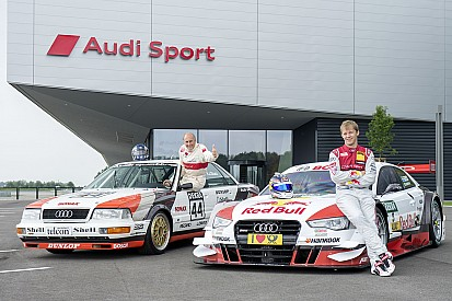Audi celebrates anniversary at Norisring