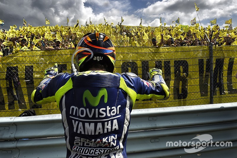 Rossi: I did nothing wrong at last corner