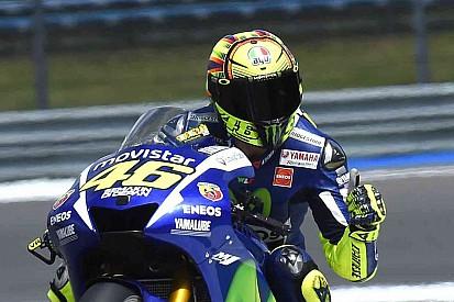 "Rossi: ""Não fiz nada de errado na última curva"""