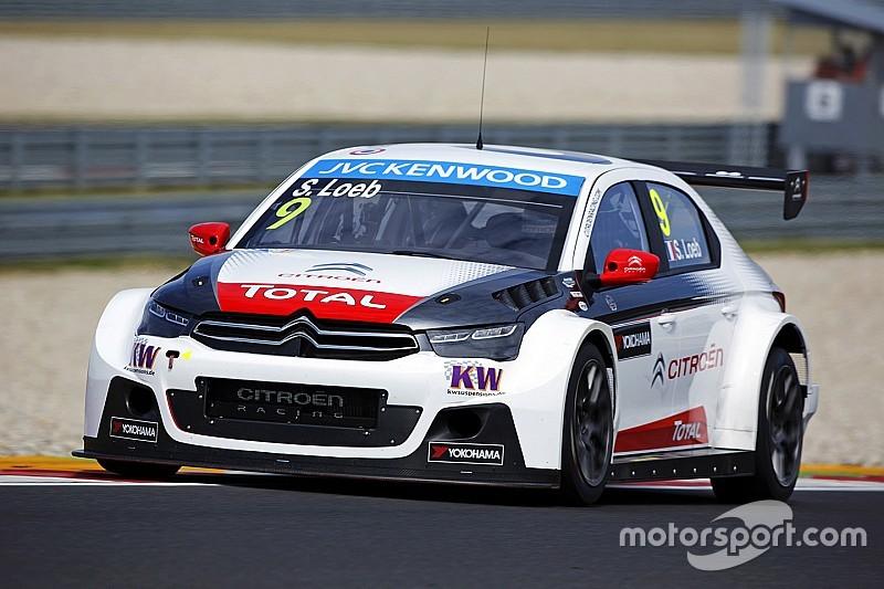 Loeb leads Citroën pack