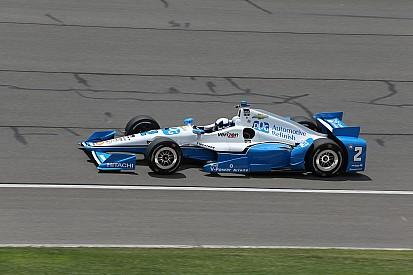 Montoya sintió que la carrera en Fontana fue peligrosa