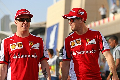 Quiero que Raikkonen se quede en Ferrari, dice Vettel
