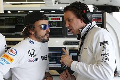 Honda considera troca de motor para Alonso na Inglaterra