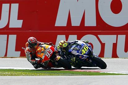 Márquez es muy agresivo, aseguró Lorenzo