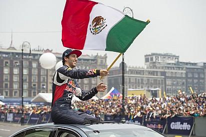 Ricciardo festeja cumpleaños y presume visita a México