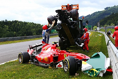 """Alonso lashes out at """"sick"""" Austrian GP crash theories"""