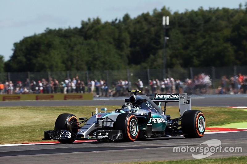 Rosberg fue el más veloz en la primera práctica