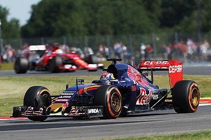 Verstappen: Toro Rosso quickest car on Silverstone corners