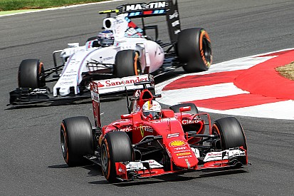 Ferrari: The action begins at Silverstone