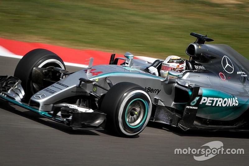 Hamilton tuvo un gran ritmo en la tercera práctica