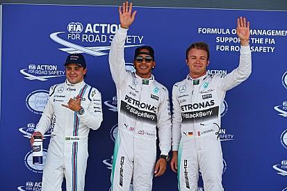 British GP: Hamilton beats Rosberg to Silverstone pole