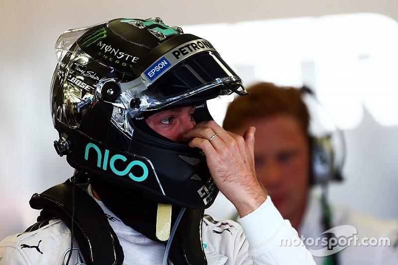 """Rosberg dice que Hamilton """"solo fue una décima más rápido"""""""