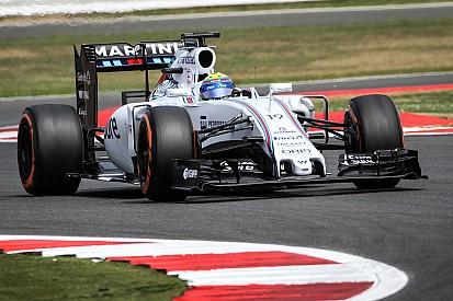 Massa está encantado de superar a los Ferrari