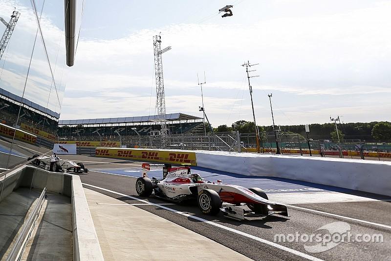 Silverstone GP3: Kirchhofer fends off Bernstorff for second win of 2015