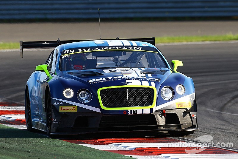 First win for Vincent Abril and Maxi Buhk in the HTP Bentley Continental GT3