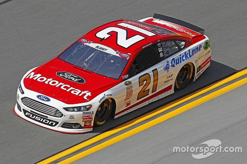 Luck runs out for the Wood Brothers at Daytona