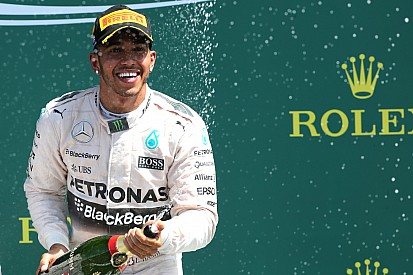 British GP: Hamilton masters rain-hit race at Silverstone
