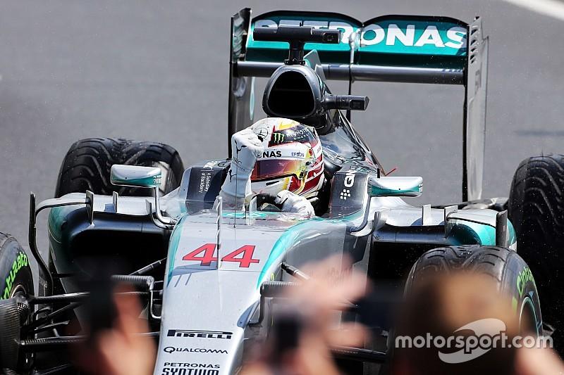 Hamilton, feliz por ganar ante sus compatriotas