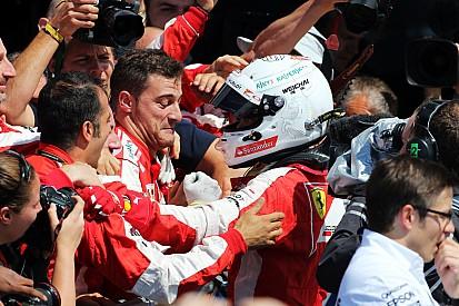 """Em 3º, Vettel reconhece: """"sem a chuva nós não estaríamos aqui"""""""
