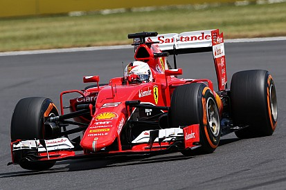 British GP: Vettel fights his way to the podium, Raikkonen eighth