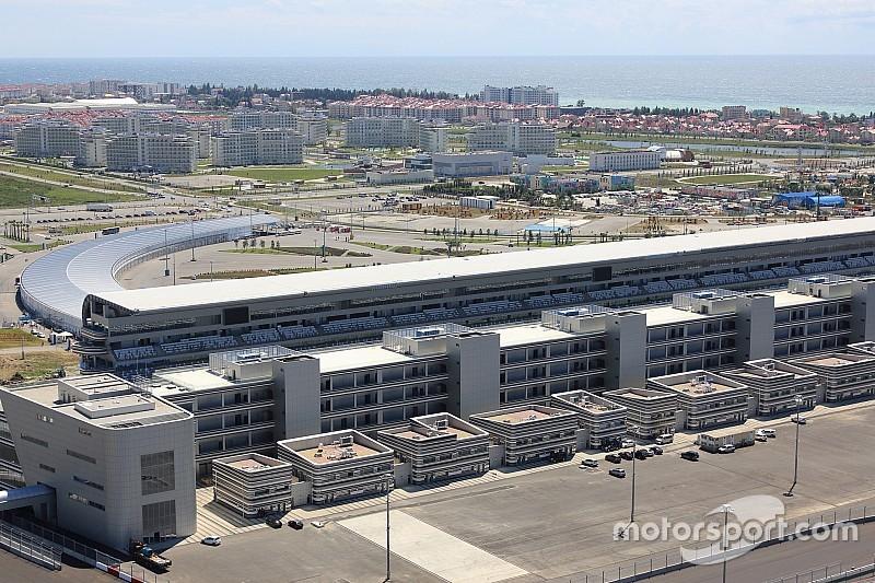 В Сочи продолжают подготовку к Гран При России