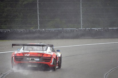 Dion von Moltke pushes through treacherous conditions at the Glen