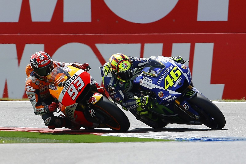 """Rossi says he needs to """"be very careful"""" with Marquez"""
