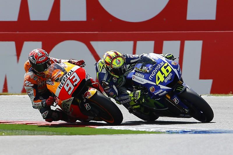 """Rossi cree que necesita """"ser muy cuidadoso"""" con Márquez"""