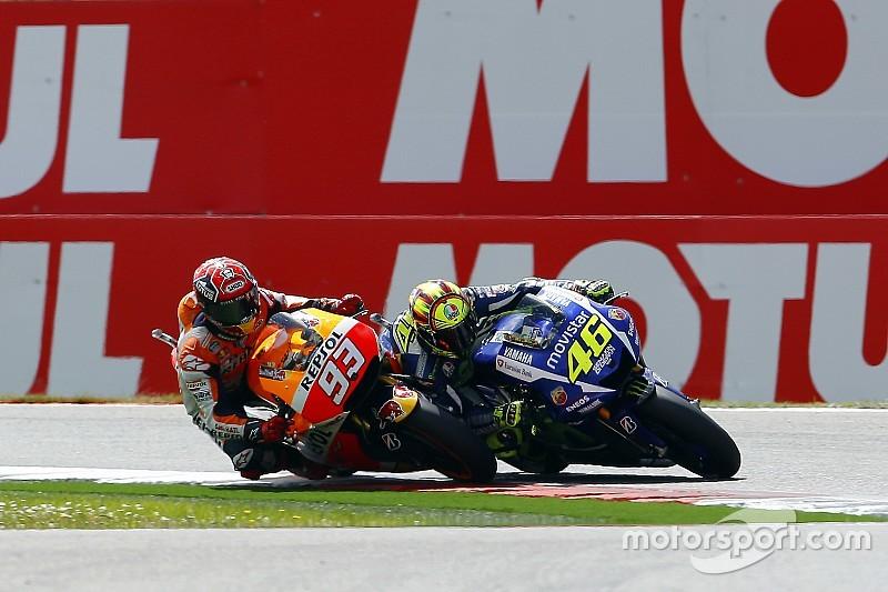 "Valentino Rossi - ""Il faudra être très prudent avec Márquez"""