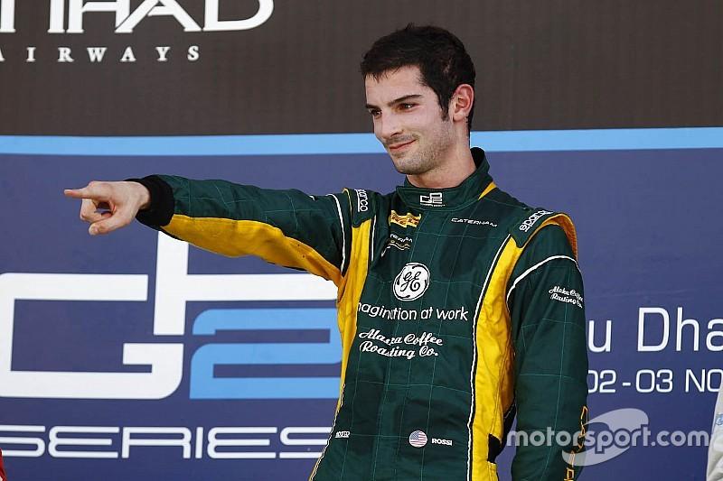 Portrait - Alexander Rossi, succès et déceptions en FR3.5 et GP2 (2/5)