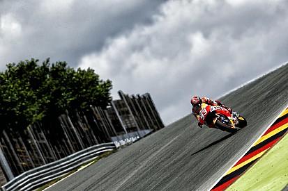 Márquez volvió a quedar al frente en Alemania