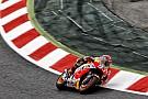 Márquez manda, seguido de Lorenzo y Rossi
