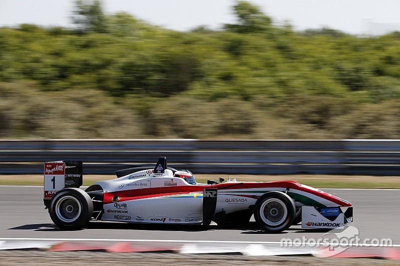 Rosenqvist bat Giovinazzi pour la victoire, Leclerc se crashe