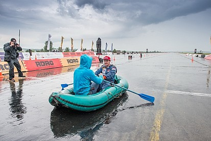 Дождь нарушил планы организаторов RDRC