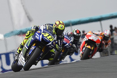 "Rossi: It was ""impossible"" to beat the Hondas"