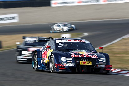 Audi driver Ekström with strong recovery