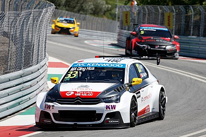 Ma Qing Hua wins crash-strewn race two in Portugal