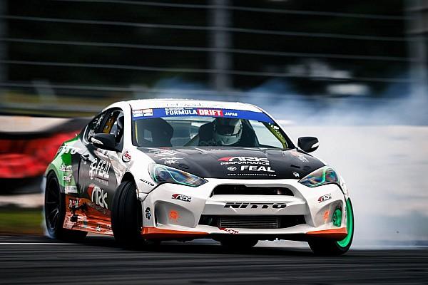 Formula Drift Masato Kawabata wins at Fuji International Speedway