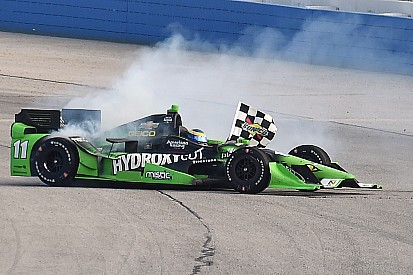 Bourdais' surprise oval victory