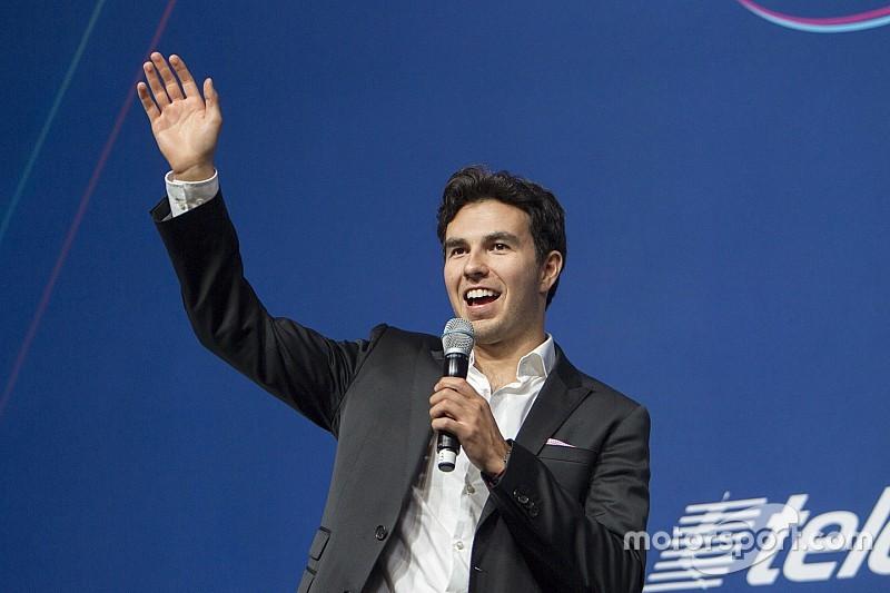 Sergio Pérez, entusiasmado para el futuro