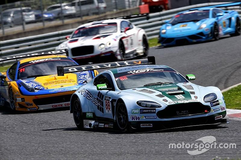 Craft-Bamboo Racing in close championship battle at Fuji