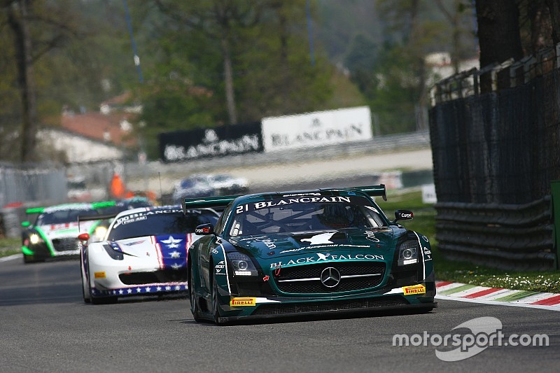 Black Falcon contesting Total 24 hours of Spa with three entries