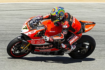 Davies ends opening day at Laguna Seca in charge
