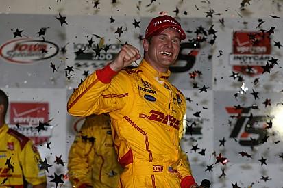 """Ryan Hunter-Reay ravi d'avoir remporté une course """"très physique"""""""