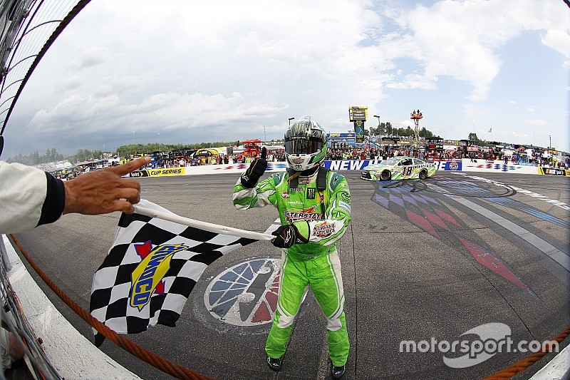 The comeback continues for Kyle Busch with New Hampshire win