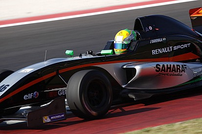 Double pole and a podium for Daruvala
