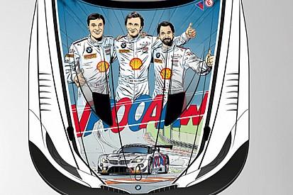 Zanardi, Glock e Spengler come Michel Vaillant a Spa