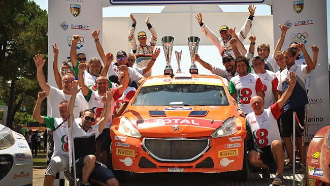 Doppietta Peugeot e titolo Junior a San Marino!